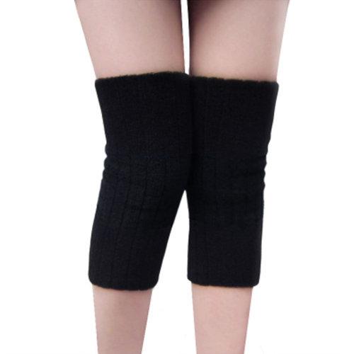 Warmer Knee Brace Sleeve for Sports, Yoga, Dance, Arthritis, Joint Pain, Black L