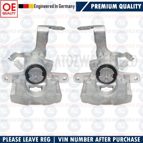 FOR TOYOTA AVENSIS T27 -2014 REAR LEFT RIGHT BRAKE CALIPER CALIPERS PAIR (290mm)