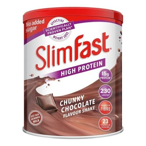 Slim Fast Chocolate Meal Replacement Shake Mix Diet Weight Loss Drink