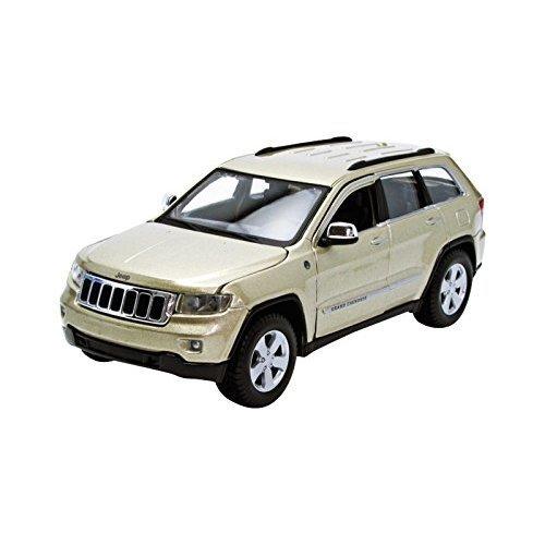Maisto Jeep Grand Cherokee Laredo SUV 1/24 Scale Diecast Model Car White