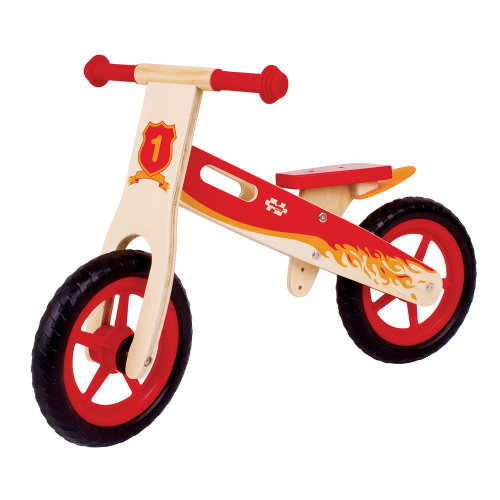 Bigjigs Toys My First Balance Bike (Red)