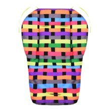 Cool Thicken Baby Strollers Mat Stroller Seat Liners - Colorful