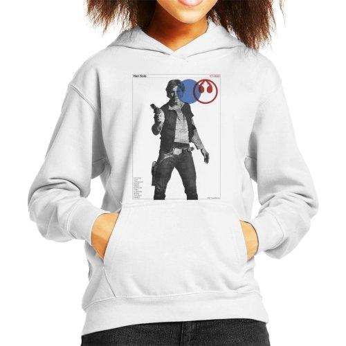 Star Wars Han Solo YT 1300 Millennium Falcon Kid's Hooded Sweatshirt