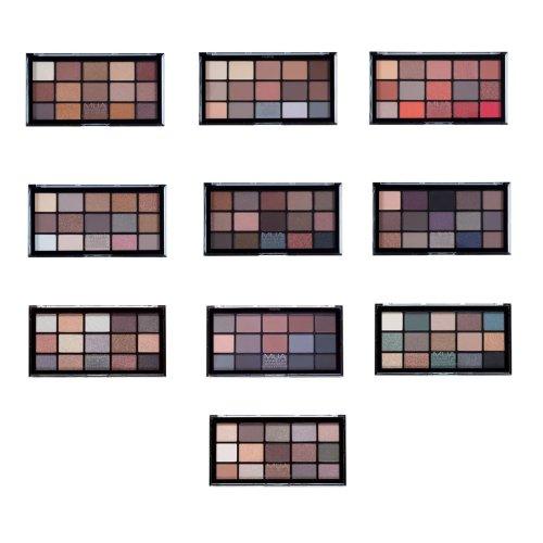 MUA 15 Shade Pro Eyeshadow Palettes