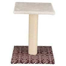 Trixie Cat Tree Carlotta 49 cm Cat – white/wine Red - Cats Scratching Nagarajan -  trixie cats scratching tree nagarajan white wine red new
