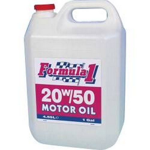 CarPlan XFI455 Formula Motor Oil 20W-50 4.55 Litre