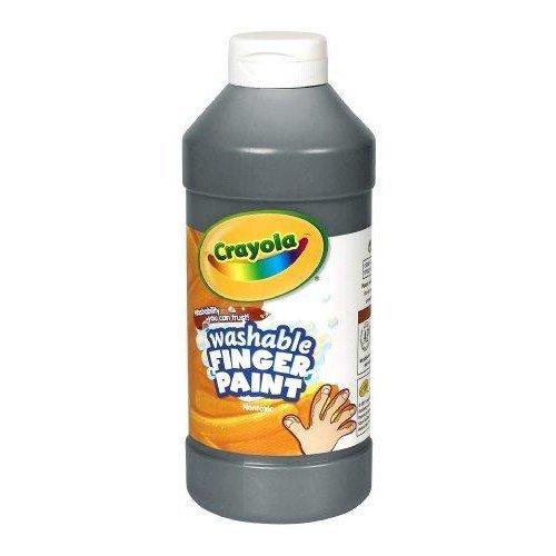 Binney & Smith Crayola(R) Washable Finger Paint, 16 Oz., Black