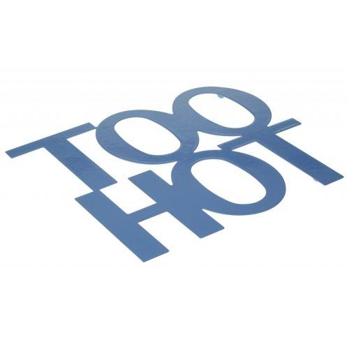 Too Hot Trivet - Blue