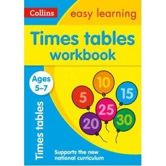 Collins Easy Learning Ks1: Times Tables Workbook Ages 5-7