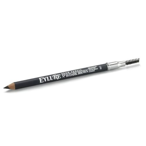 Eylure Brow Pencil - No. 10 Dark Brown | Dark Brown Eyebrow Pencil
