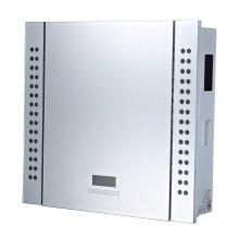 Homcom Bathroom Mirror Cabinet with Bluetooth Speaker LED Display