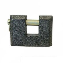 Silverline Cast-iron Shutter Lock 80mm - Cast Iron 675169 -  cast iron shutter lock 80mm silverline 675169