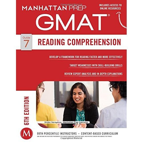 Reading Comprehension GMAT Strategy Guide (Manhattan Prep GMAT Strategy Guides)