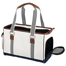 Trixie Elisa Dog Carrier, 20 x 26 x 41 Cm, White - Carriercm Cats -  x trixie elisa white dog carrier 20 26 41 cm cats