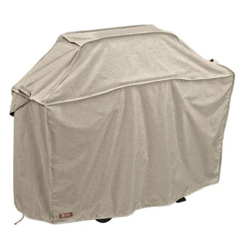 Classic Accessories 55-660-036701-RT Montlake Medium Bbq Grill Cover, Grey - 58 in.