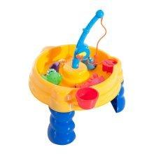 Homcom 13pc Fishing Game Set | Children's Reflex Training Fishing Toy