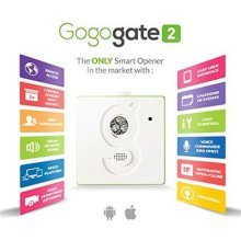 Gogogate2 with Wired Sensor For Gates & Shutters, Open, Close, & Monitor Gate From Anywhere with your Smartphone