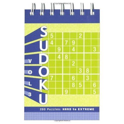 Sudoku Puzzle Pad: Hard to Extreme: v  3