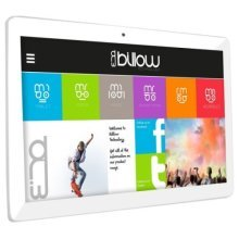 "Billow X101 Pro Tablet, 10.1"", Quad Core, 1GB, 16GB, Dual band WiFi, GPS, Android 7.0, Silver"