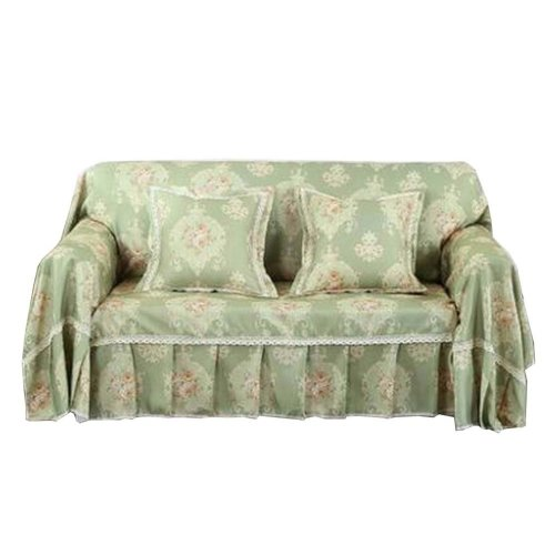 3 Seat Sofa Slipcover Elegant Couch Cover Furniture Protector #30