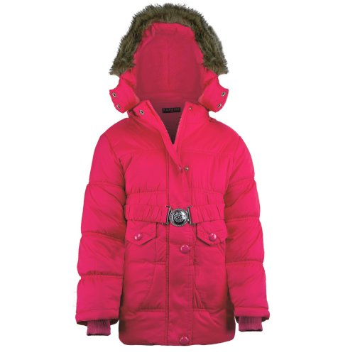 Girls Quilted Winter Jacket