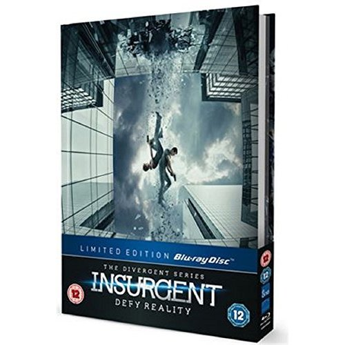 Insurgent Including Limited Edition 28 Page Visual Guide Collector's Book [Blu-ray]