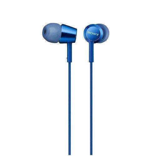 Sony MDR-EX155AP Headphones - Blue