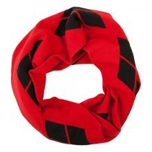 Scarf - Dc Comics - Harley Quinn Infinity Knit New Ks4skebtm -  harley quinn infinity knit scarf