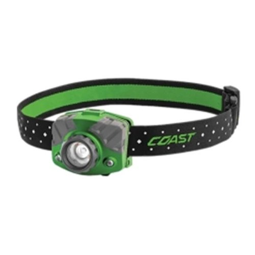Coast 20619 FL75R Rechargeable Head Lamp, Green