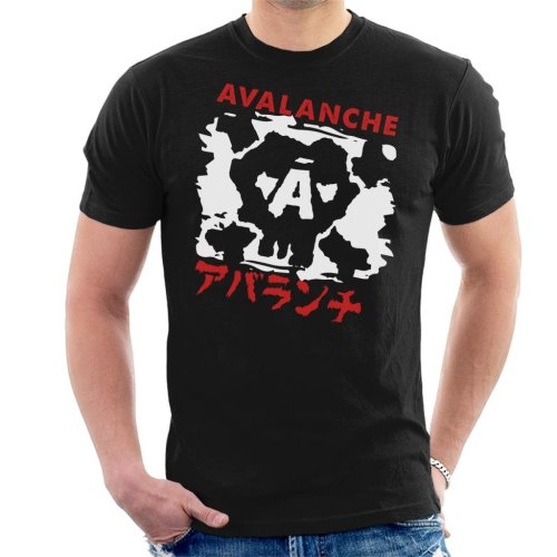 Avalanche Graffiti Final Fantasy VII Men's T-Shirt