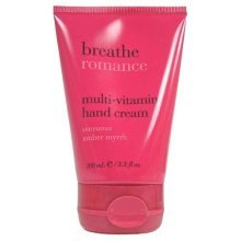 Bath & Body Works Breathe Romance Multi Vitamin Hand Cream - Sensuous Amber Myrr