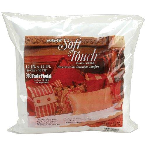 "Fairfield Soft Touch Down-Like Pillowform -12""X12"" FOB: MI"