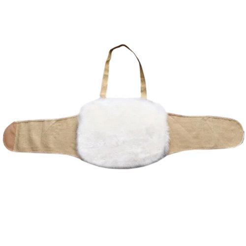 Fleece Waist Belt Keep Your WAIST/STOMACH/TUMMY Warm KHAKI L