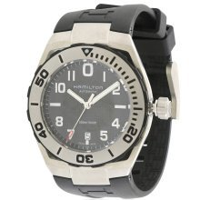 Hamilton Khaki Navy Sub Automatic  rubber Mens Watch H78615335