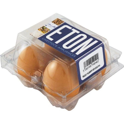 ETON Rubber Bantam Egg (Pack of 4)
