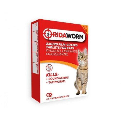 Ridaworm Cat 2tabs