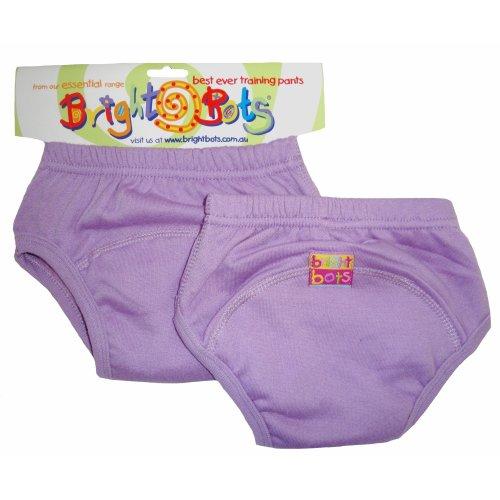 Bright Bots 2pk Washable Training Pants Mauve