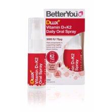 Better You  Dlux  Vitamin D   K2 Oral Spray 12ml