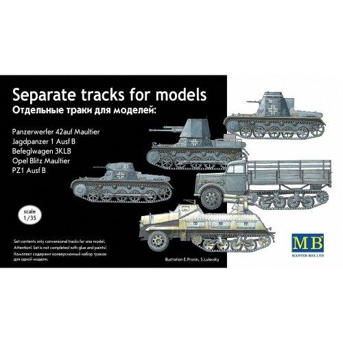 Mas3505 - Masterbox 1:35 - Separate Caterpillar Tracks