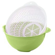 Multifunction Living Room Fruit-Plate Kitchen Vegetable Plate Drain Basket #06
