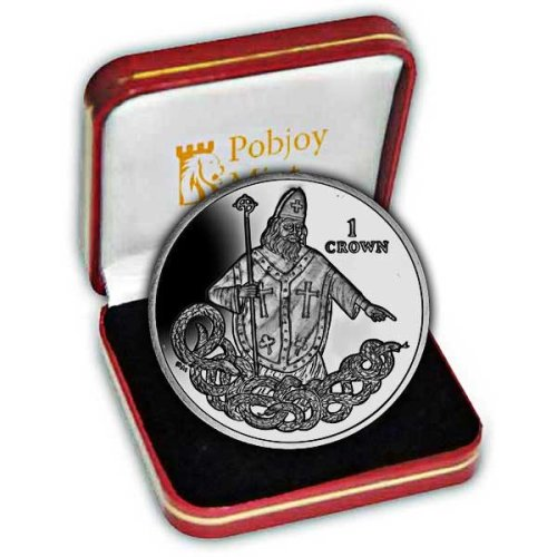Isle of Man 2013 St Patrick Commemorative Proof Silver Coin