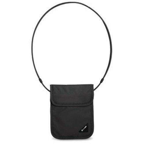 Pacsafe Coversafe X75 Anti Theft RFID Blocking Neck Pouch (Black)