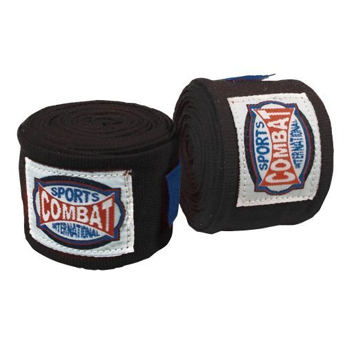 Combat Sports Semi Elastic Handwraps Black