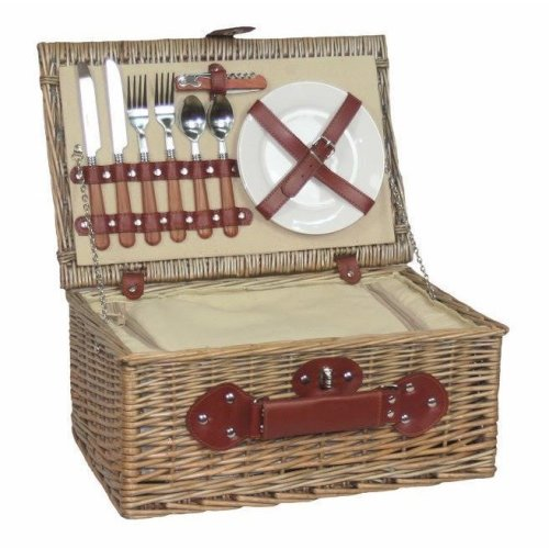 2 Person Chiller Fitted Picnic Basket