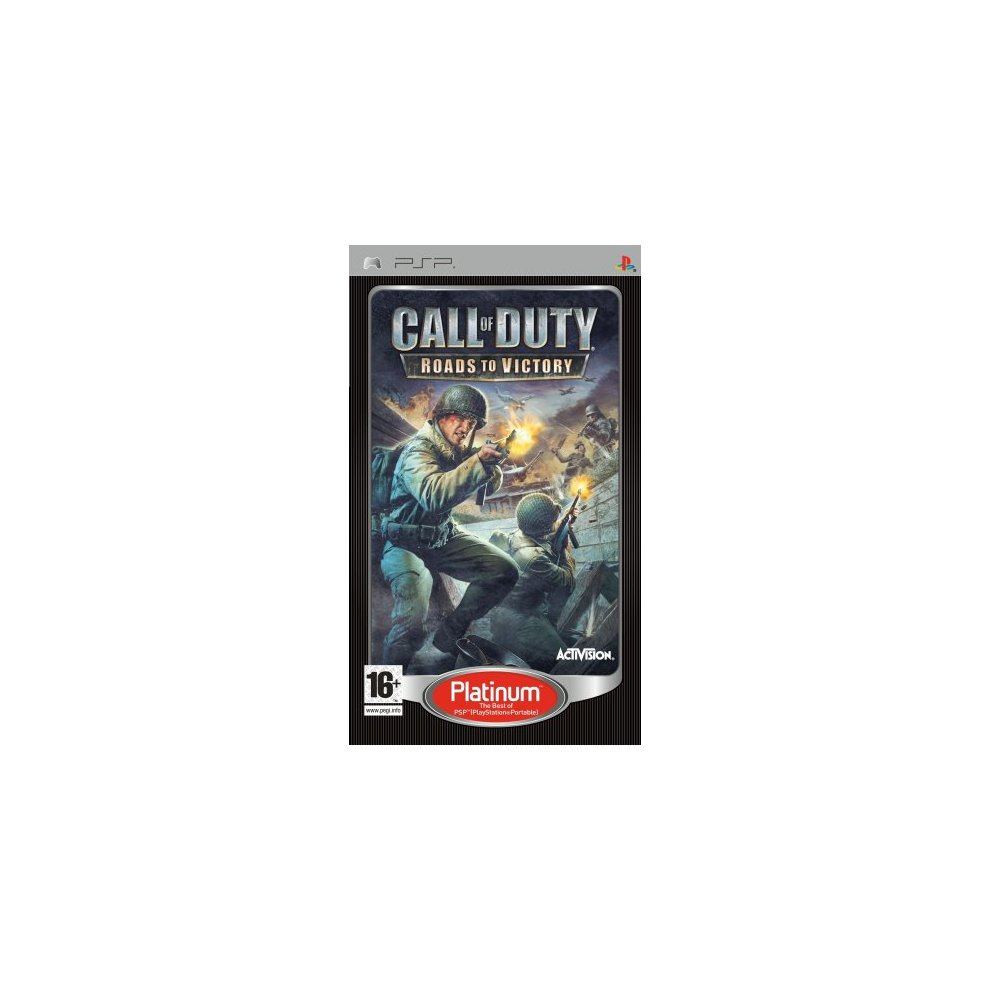 psp call of duty 3