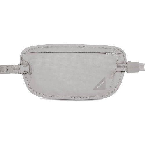Pacsafe Coversafe X100 Anti Theft RFID Blocking Waist Wallet (Neutral Grey)