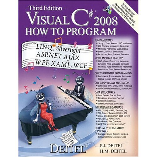 Visual C# 2008 How to Program: United States Edition (How to Program (Deitel))