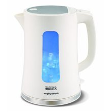 Morphy Richards Accents Pyramid Kettle - White 3000W (Model No. 120004)