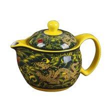 Creative Tea Kettle With Tea Infuser Ceramic Tea pot,dragon