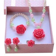 Girls Lovely Jewelry Children Stylish Clip-on Earrings